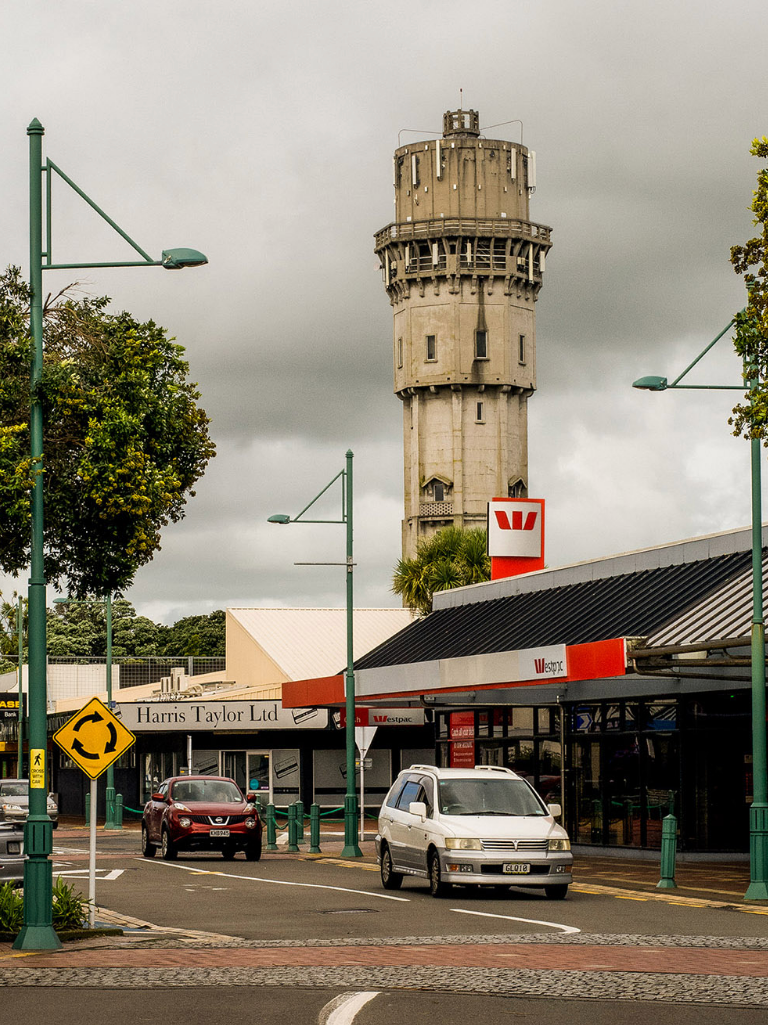 Hawera Water tower